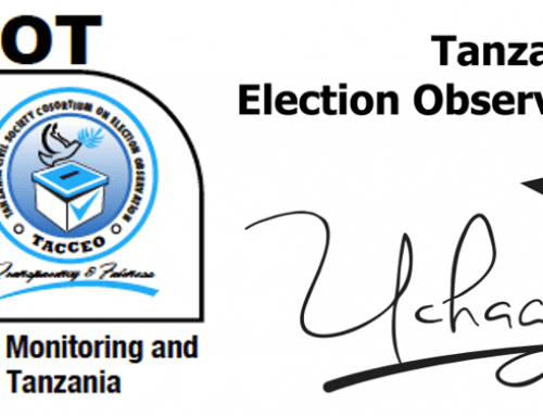 EXODUS supporting the Coalition on Election Monitoring and Observation in Tanzania (CEMOT)