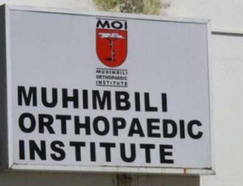 Exodus working with Muhimbili Orthopaedic Institute (MOI)