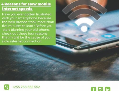4 Reasons for slow mobile internet speeds